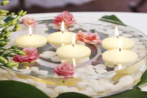 candele-galleggianti